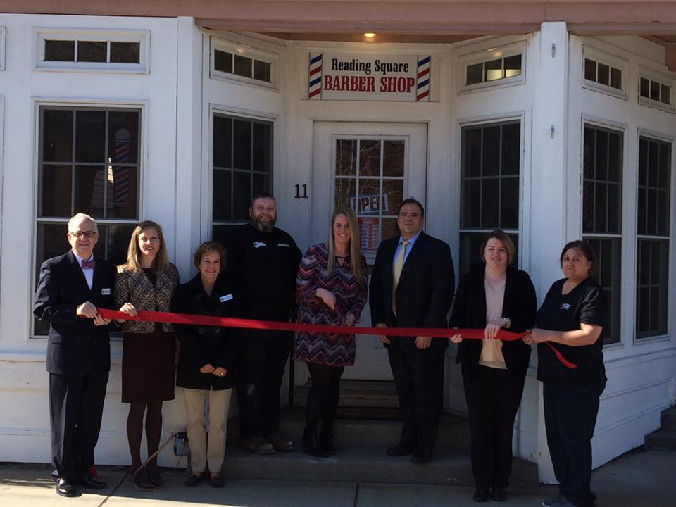 Welcome to reading reading square barber shop reading north reading square barbers ribbon cutting sciox Gallery