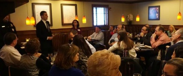 Lunch & Learn at Horseshoe Grill with Michael Gilleberto, North Reading Town Administrator