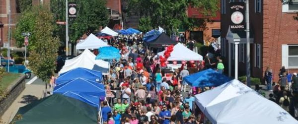 2016 Reading Fall Street Faire – A celebration of community 9-11-16