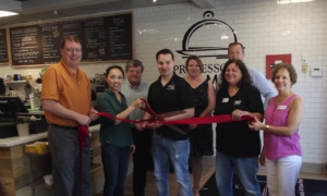 Professor's Market Ribbon Cutting