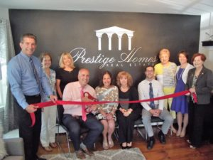 Prestige Homes Real Estate Ribbon Cutting