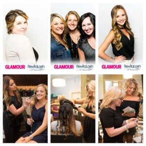 glamour montage