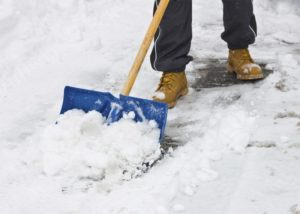 snow shoveling bylaw repealed